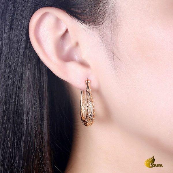 گوشواره زنانه حلقه ای